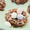 Easter Bird Nest Macaroons