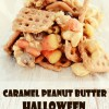 Caramel Peanut Butter Halloween Monster Munch